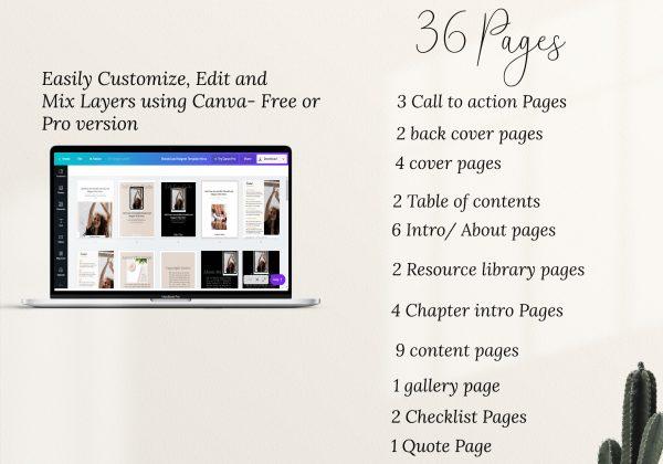 ebook template made in canva