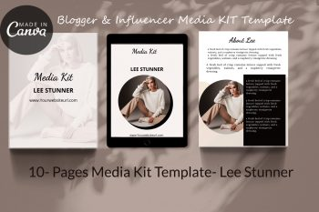 Canva Media Kit Template