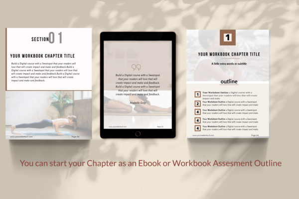 Canva workbook template