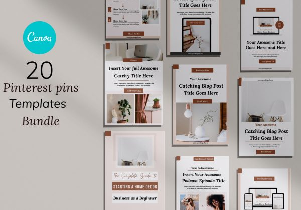 Pinterest Pins Templates