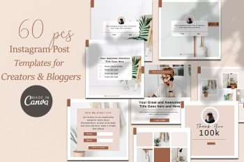 Instagram post template Canva-melyssa