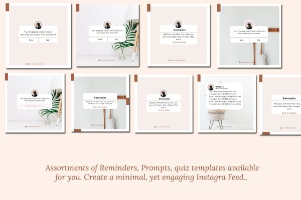 Instagram Post Canva template