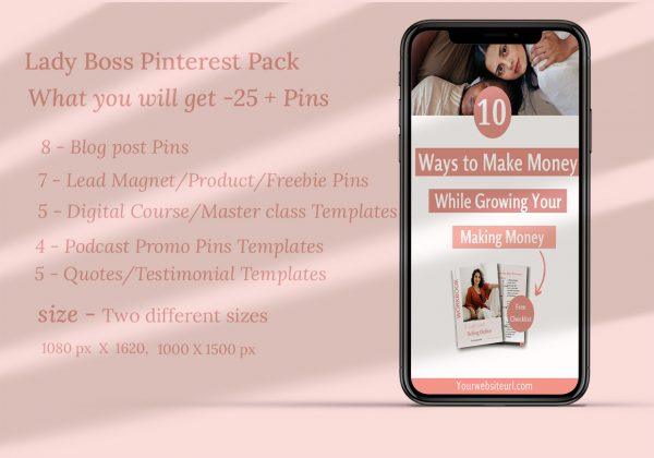 pinterest marketing pack-canva