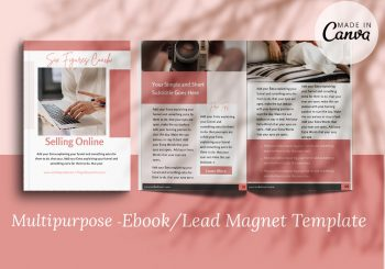 ebook canva template