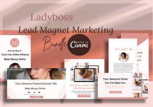 Ladyboss lead magnet marketing Bundle