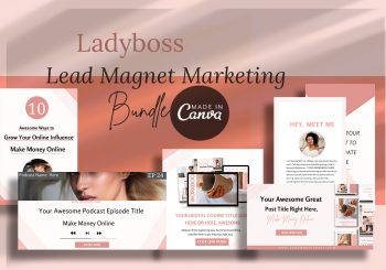 Ladyboss lead magnet marketing Bundle