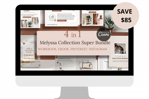 Melyssa Canva template Bundle